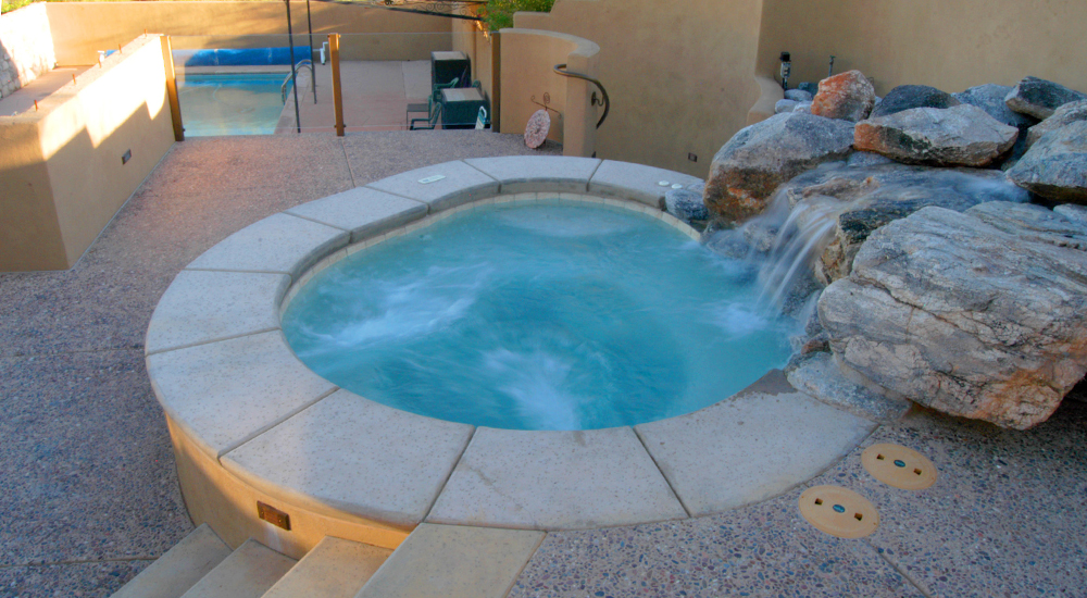 In Ground Spa Gallery   In Ground Spas   Patio Pools